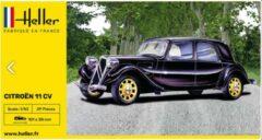 Heller: Citroën 11 CV (modelbouw, 1:43)