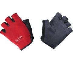 Gore Wear C3 Short Finger Gloves Handschoen Zwart/Middenrood