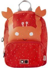 Oranje Trixi Baby Trixie kinderrugzak - Mr Crab - krab rugtasje