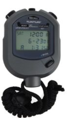 Tunturi Stopwatch - Digitale Stopwatch - Sport stopwatch - met 20 Geheugens voor Tijd