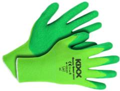 Groene Tuinhandschoen Groovy groen maat M ofwel 8 KIXX