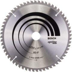 Bosch Ø 254 x30 x2,0 mm Kreissägeblatt für Kapp & Gehrun gssäge