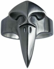 """AuBor ®. Zilveren ring. De raaf """"Korppi"""" 20mm"""