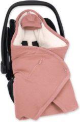 BEMINI Wikkeldeken BISIDE® 0-12m sienna Bambi Pady tetra jersey teddy