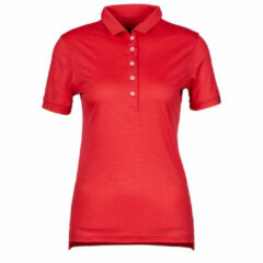 Rewoolution - Women's Mirth - Poloshirt maat S, rood/roze