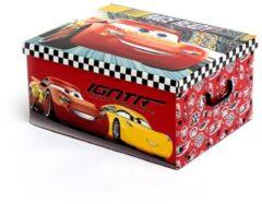 Rode Disney Cars Opvouwbare Speelgoedopberger (50 x 39 cm)