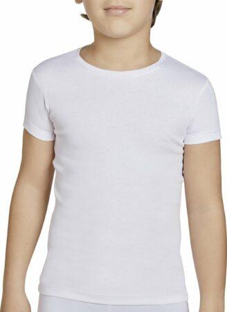 Afbeelding van Ysabel Mora T-shirt kind korte mouwen wit   16