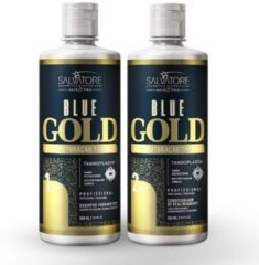 Salvatore Blue Taninoplastia Gold Keratine Treatment Keratin Behandeling 2x500ml