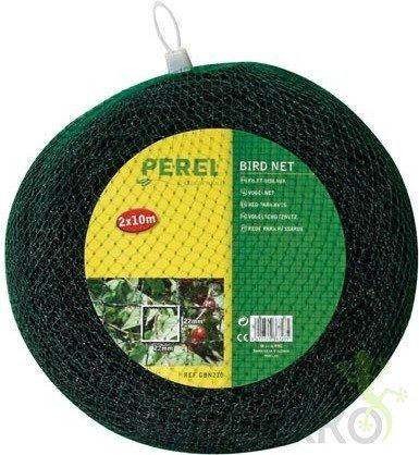 Afbeelding van Perel Vogelnet 2 X 10 Meter Polyester Groen