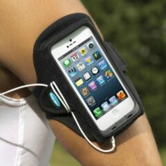 Zwarte Tune Belt AB90 Sport Armband