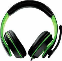 Esperanza EGH300G hoofdtelefoon Stereofonisch Hoofdband Zwart, Groen