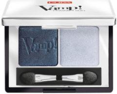 Blauwe Pupa milano Pupa - Vamp! Compact Duo Eyeshadow - 012 Magnetic Blue