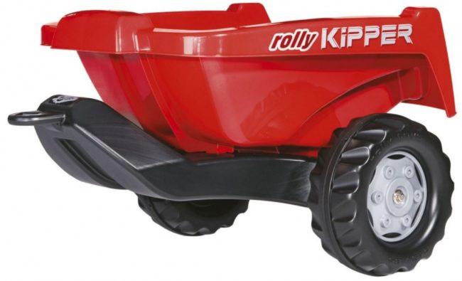 Afbeelding van Rode Rolly Toys aanhanger RollyKipper II junior rood