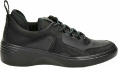 Ecco Soft 7 Wedge sneakers zwart - Maat 37