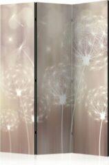 Paarse Kamerscherm - Scheidingswand - Vouwscherm - Summer Games [Room Dividers] 135x172 - Artgeist Vouwscherm
