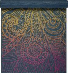 Gaiam Vivid Zest Yoga Mat - Blauw, Geel, Paars - 173 X 61 X 0.4 Cm