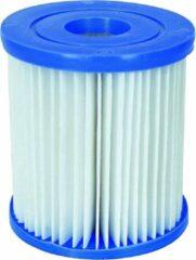 Blauwe 10x Bestway filter Type 1 58093 voor zwembad pomp fast set zwembaden