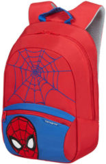 Rode Samsonite Kinderrugzak - Disney Ultimate 2.0 Backpack S+ Marvel Spider-Man