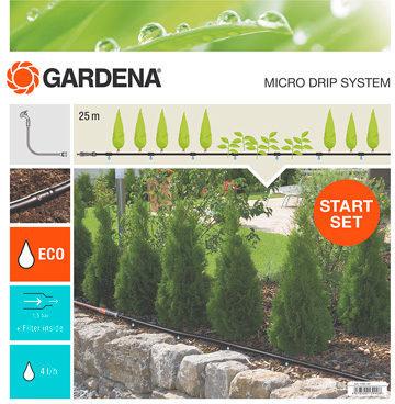 Afbeelding van GARDENA 13011-20 Micro-Drip system Startset plantenrij M 13 mm (1/2) Ã Slanglengte: 25 m