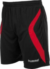 Zwarte Hummel Manchester Short - Voetbalbroek - Mannen - Maat L - Zwart