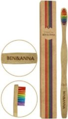Ben & Anna 4260491220905 tandenborstel Bamboo, Multi kleuren Volwassene