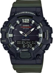 Casio Retro Digital HDC-700-3AVEF Horloge - Zwart/Groen - 49 mm