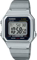 Casio Quartz Horloge B650WD-1AEF (l x b x h) 43.1 x 41.2 x 10.5 mm Zilver Materiaal (behuizing): Hars Materiaal (armband): RVS