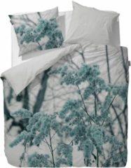 Blauwe Essenza dekbedovertrek Phine (Aqua) Maat: 2-Persoons 200x200/220 cm