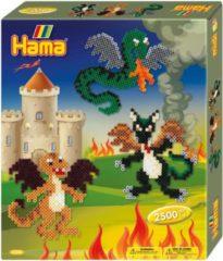Hama -Strijkkralenset - Gift Box Draken - 2500 stuks