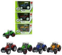 Merkloos / Sans marque Tractors 1:64 Assorti Kleuren 8cm