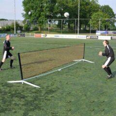 Zwarte Sportec Voetvolleyset
