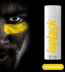 Gele Isplack Colored Eye Black - Blaze Yellow