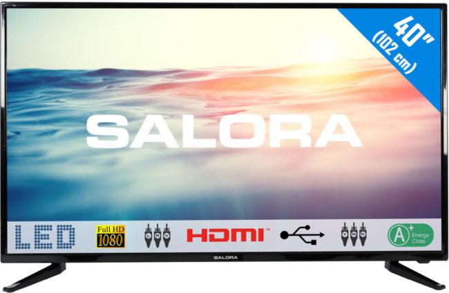 "Afbeelding van Salora 1600 series Een schitterende 40"" (102CM) Full HD LED televisie met USB (40LED1600)"