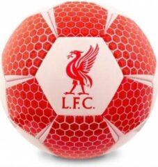 Liverpool voetbal Vector synthetisch rood/wit maat 5