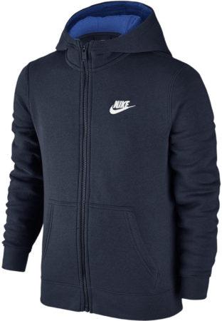 Afbeelding van Blauwe Nike Club vest jongens marine