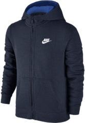 Blauwe Nike Club vest jongens marine