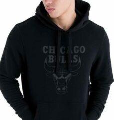 New Era Chicago Bulls Hoodie - Sporttrui - Zwart - L - Basketbal