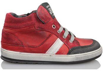 Afbeelding van Rode Hoge Sneakers Acebo's KIDS BOY