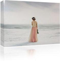 Sound Art - Canvas + Bluetooth Speaker Bride On The Beach (41 x 51cm)