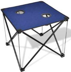 Blauwe VidaXL Campingtafel inklapbaar (blauw)