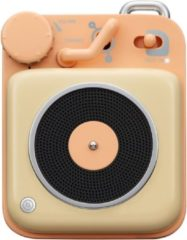 Muzen Retro Button Mini Bluetooth Speaker Peach - Muzen Retro Button Mini Bluetooth Speaker Peach