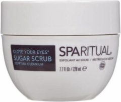SpaRitual Close Your Eyes Organic Sugar Scrub 228ml