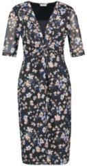 Kleid mit Blumenmuster Gerry Weber Indigo-Rosé