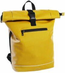 Gele Daniel Ray Highlands Waterafstotende Laptop Backpack 15.6'' M yellow Laptoprugzak