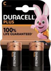 Duracell batterij Plus Power C, blister van 2 stuks