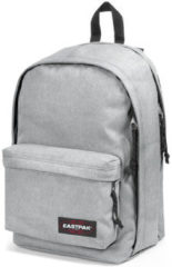 Grijze Eastpak Back To Work Rugzak 15 inch laptopvak - Sunday Grey