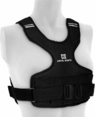 Capital_sports X-Vest gewichtsvest 5 kg 1200D nylonweefsel borstriem zwart
