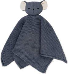 Blauwe Baby Bello Kiki the Koala Knuffeldoek - Stone Blue