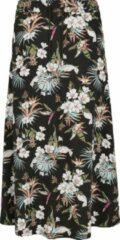Urban classics Dames Ladies Ladies Viscose Midi Skirt tropical