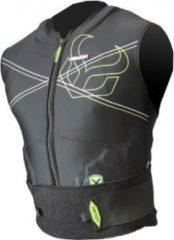 Zwarte Demon Vest X D3O rugbeschermer maat L